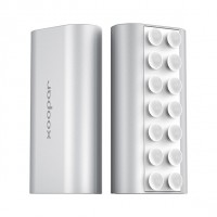 Silver squid mini power bank