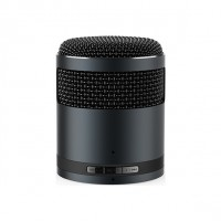 Bluetooth handsfree speaker micro metallic black Idol2