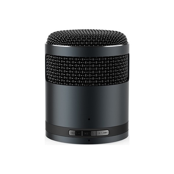 Bluetooth handsfree speaker micro metallic black Idol2