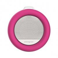 Altavoz para el baño ventosa splash speaker rosa