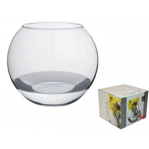 Jarrón vidrio decorativo Acuario Flora 8 cm