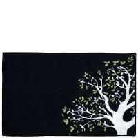 Tapis de cuisine noir Árbol 50x80 cm