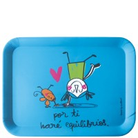 "Tray table ""Por ti haré equilibrios"" 43x32 cm"