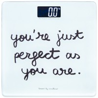 "Bilancia bagno ""You are perfect"""
