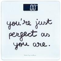 """Báscula baño """"You are perfect"""" 30x30cm"""