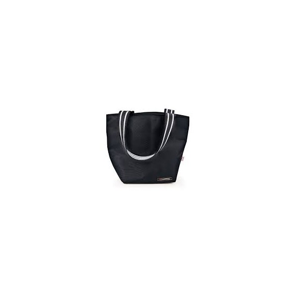 Black Tote lunchbag Iris