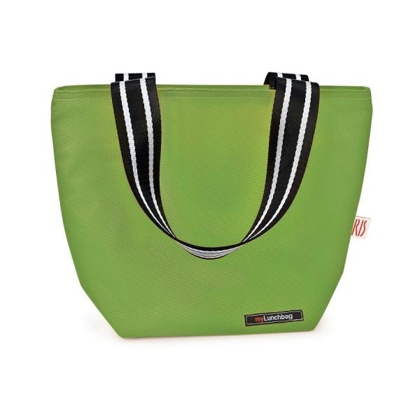 Green Tote lunchbag Iris