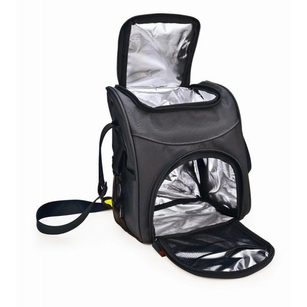 Black Traveller lunchbag Iris