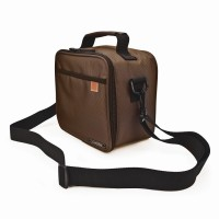 Bolsa isotérmica Classic Pocket lunchbag Iris marrón