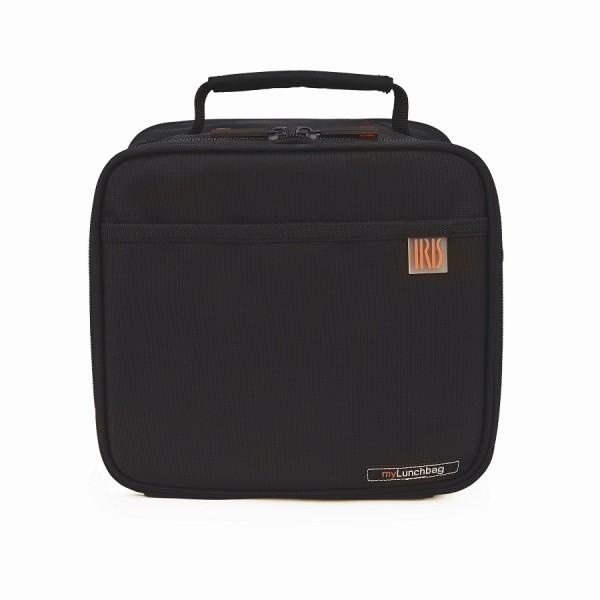 Borsa termica Maxi lunchbag nero + 2 piatti