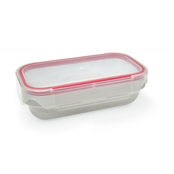 Contenedor tupper hermético Lunchbox rectangular Iris 0,8 L