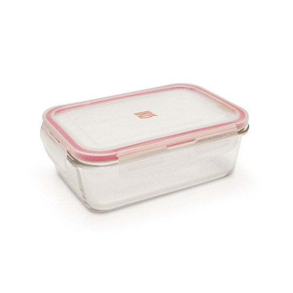 Glass food container 0,84 L Iris