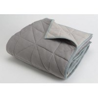 Blanket Chic reversible grey 130x170 cm