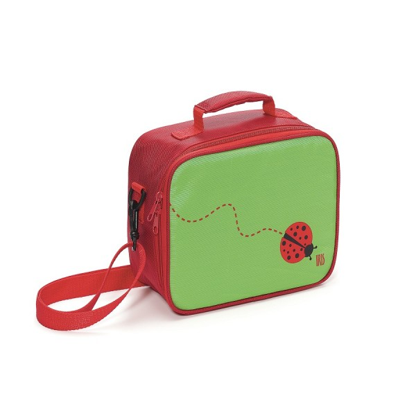 Bolsa isotérmica Mini lunchbox Snack rico Iris mariquita