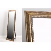 Espejo resina con soporte dorado 40x150 cm 58x168 cm