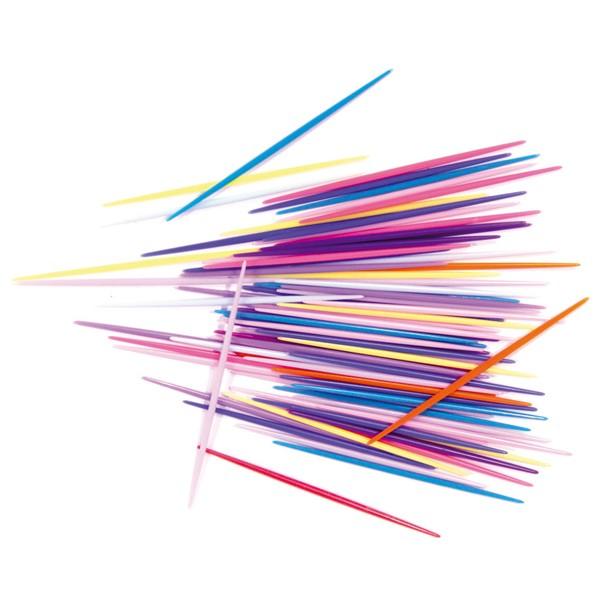 Palillos acrílicos en colores paquete 250 unidades