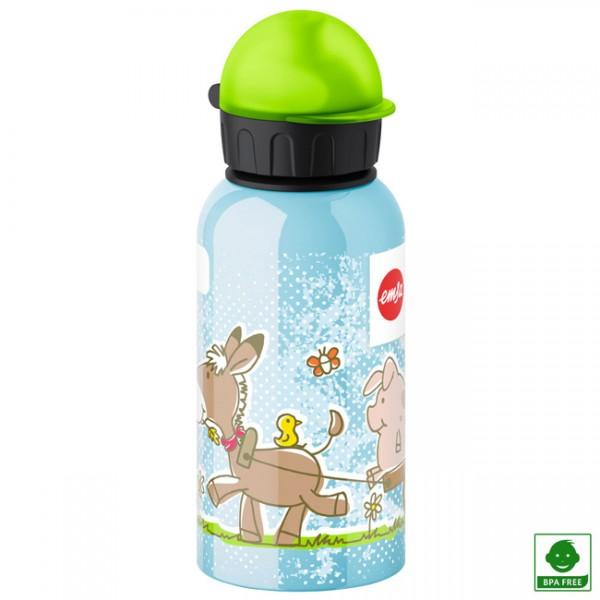 Botella aluminio hermética Granja 400 ml