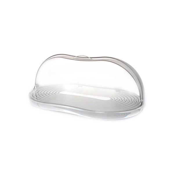 Caja pan panera con tapa Latina transparente Guzzini