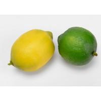 Limón artificial verde o amarillo 8cm