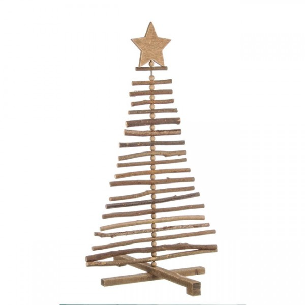 Árbol Navidad madera 70 cm