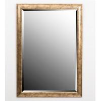 Espejo marco dorado fino 60x90 cm