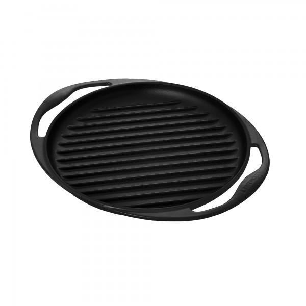 Parrilla grill hierro colado redonda Le Creuset Negra 26cm
