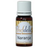 Aroma concentrado para repostería Naranja Chefdelice 10ml