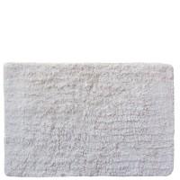 Alfombra de baño lisa blanca 40x60cm