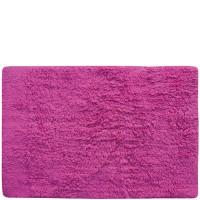 Alfombra de baño lisa rosa 40x60cm