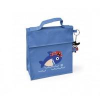 Bolsa isotérmica Kinder Bag snack rico Piratas azul con asa