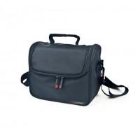 Sac isotherme Case lunchbag noir + 2 plats