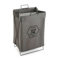 Cesto cubo para ropa gris The Laundry Company 36x28xh58cm
