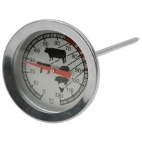 Termómetro para carnes con medidas Acero Inoxidable 5,5xh13cm