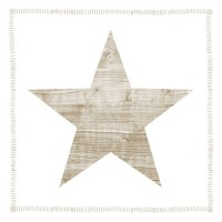 Servilletas cuadradas Star Fashion taupe PPD 33x33cm