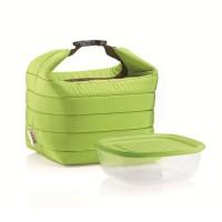 Bolsa isotérmica + 1 recipiente verde Handy Guzzini