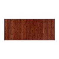 Alfombra tablillas bambú color nogal 75x175cm