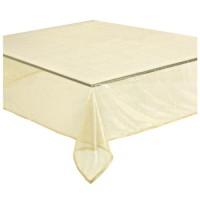 Mantel fino dorado 140x230cm