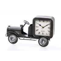 Reloj metálico de sobremesa Coche clásico 36,5x7,5x22,5 cm