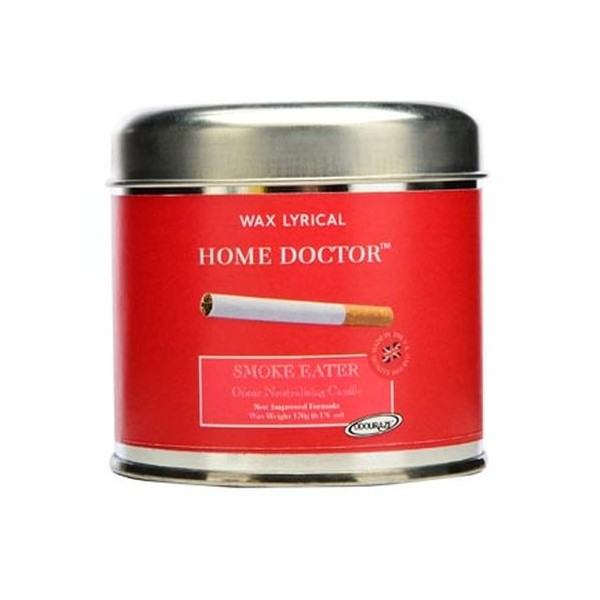 Vela antiolores Tabaco en lata con tapa Wax Lyrical