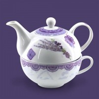 Tea for one tetera porcelana Lavanda 315cc