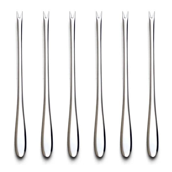 Juego 6 tenedores para marisco Herdmar