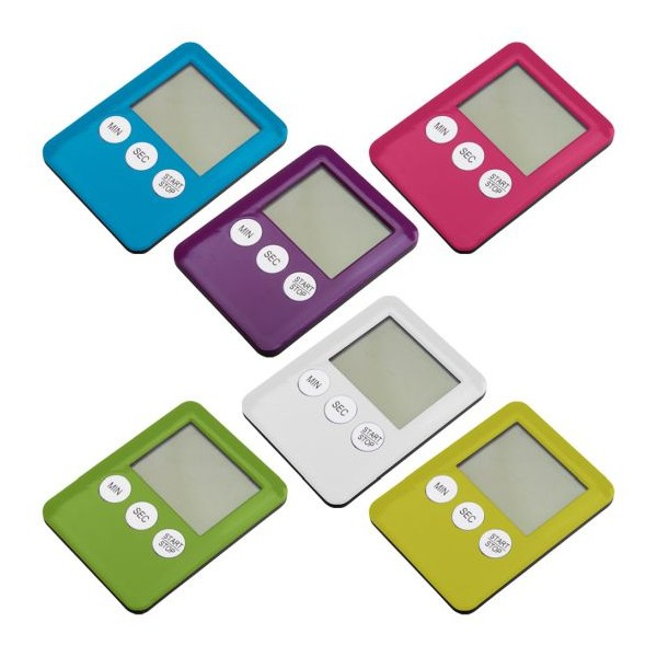 Temporizador electrónico imantado en varios colores