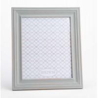 Marco de fotos clásico madera gris azulado 20x25 cm