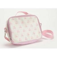 Bolsa isotérmica infantil flamencos corazón rosa Elise 27x8x20h cm