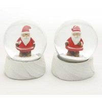 Bola de nieve navideña Papa Noel 2 modelos