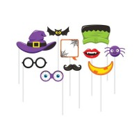 Set 10 accesorios Photocall Halloween
