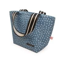 Bolsa isotérmica Tote Dots azul lunchbag Iris