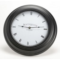 Reloj de pared negro Antiquité Ø43 cm