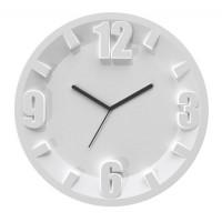 Reloj de pared esfera blanca Orologio 3-6-9-12 Guzzini Ø30 cm