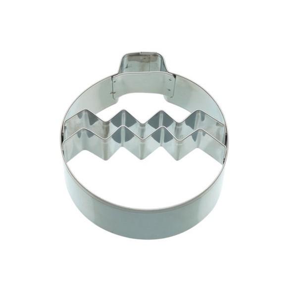 Cortador metálico forma Bola Navidad 9cm